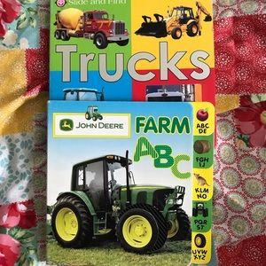 Other - Bundle of 2 Children's Books Trucks & Farm ABC